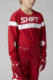 Shift White label Youth Haut Jersey Red 2021