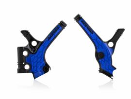 Acerbis X-Grip Framebeschermer YZ85 19-20 Zwart Blauw