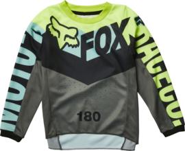 Fox 180 Trice Jersey Teal PeeWee 2022