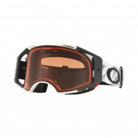 Oakley Airbrake Matte White Speed Prizm Bronze