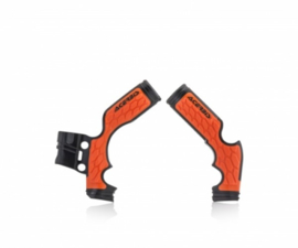 Acerbis X-Grip Framebeschermer SX65 14-20 TC65 15-20 Zwart Oranje