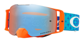 Oakley Frontline TLD - Starburst Blue Orange Prizm Mx Sapphire Iridium Lens