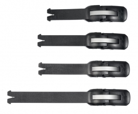 Alpinestars Straps 4-Pack Black Old Model