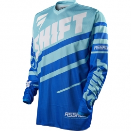 Shift Assault Jersey AQU 2015 XL