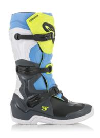 Alpinestars Tech 3 Boots Cool Grey Yellow