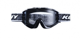 Kenny Track Goggle Black w Clear Lens
