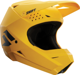 Shift Helm White Label Yellow