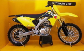 Suzuki RMZ450 Replica 1:12