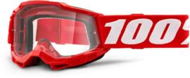 100% The Accuri 2 Junior Red