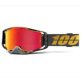 100% Armega Goggle Falcon 5 W/HIPER Mirror Red Lens