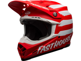 Bell Moto-9 Mips Signia Matte Red/White
