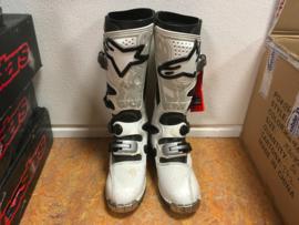 Alpinestars Tech 8 Boots White Size 7 (EU: 40.5)