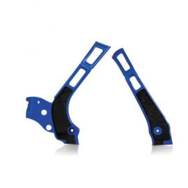 Acerbis X-Grip Framebeschermer YZ125/250 WR125/250 06-19 Blauw Zwart