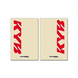 KYB Voorvork Stickers