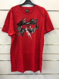 Oakley Canvas Red Tee