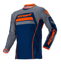 Kenny Titanium Jersey Navy Orange 2018