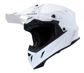 Kenny Trophy Helm Matt White Pearl 2020