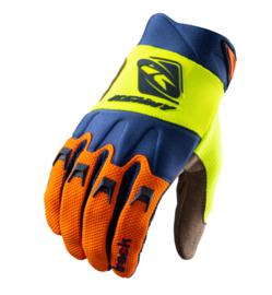 Kenny Track Glove Orange Navy Neon Yellow 2021