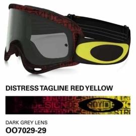 Oakley O-Frame Distress Tagline Red
