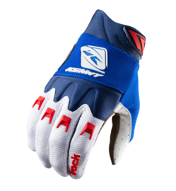 Kenny Track Glove Blue White Red 2021