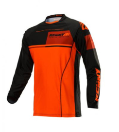 Kenny Titanium Jersey Black Orange 2020