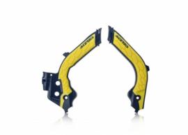 Acerbis X-Grip Framebeschermer TC/FC 19-20 Blauw Geel