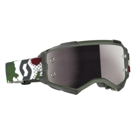 Scott Fury Dark Green Camo LE W/Silver Chrome