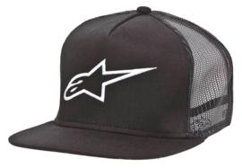 Alpinestars Corp Trucker Snapback Cap Black