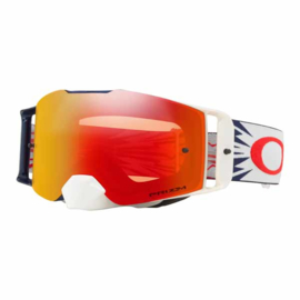 Oakley Frontline High Voltage Red Navy Prizm Mx Torch Iridium Lens