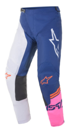 Alpinestars Racer Compass Pant Off White Navy Pink Fluo 2021