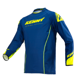 Kenny Titanium Jersey Navy Neon Yellow 2019