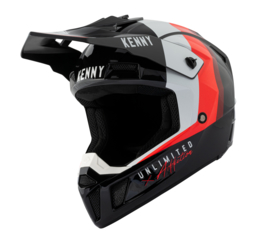 Kenny Performance Helm Black Red 2021