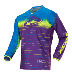 Kenny Performance Jersey Purple Lines 2018