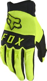 Fox Dirtpaw Glove Flo Yellow 2022