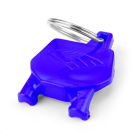Cycra Nummerbord Sleutelhanger Blauw