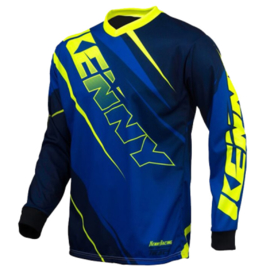 Kenny Track Jersey Blue Fluo Yellow 2016
