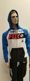 Fox Maneuver Zip Fleece Heather Black
