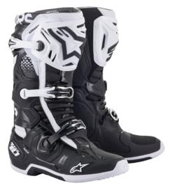 Alpinestars Tech 10 Boots Black White
