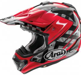 Arai MX-V Scoop Red