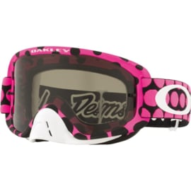 Oakley O2 Mx Troy Lee Designs Faded Dot Pink w/Dark Grey Lens