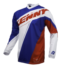 Kenny Performance Jersey Blue White Red 2016