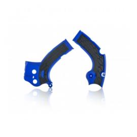 Acerbis X-Grip Framebeschermer YZF250 17-18 YZF450 16-17 Blauw Zwart