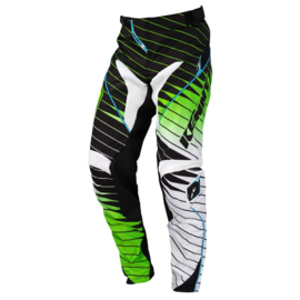 Kenny Performance Pant Youth Zwart Groen 2016