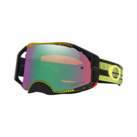Oakley Airbrake Frequency Green Yellow