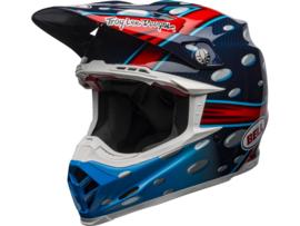 Bell Moto-9 Flex McGrath Replica Gloss Blue/Red/Black