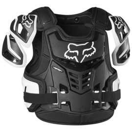 Fox Raptor Bodyprotector Zwart Wit Volwassen