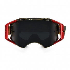 Oakley Airbrake Flight Series Scorpions W/Dark Grey