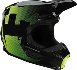 Fox V1 Tayzer Helmet Black 2021