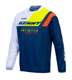 Kenny Track Jersey Navy Neon Yellow 2021