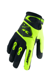 Kenny Track Glove Neon Yellow Black 2020